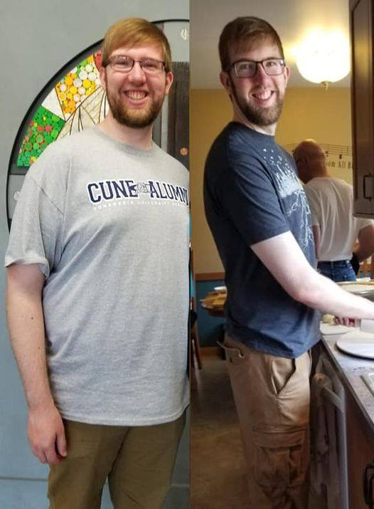 Mason perdió 70 libras. Así es como: