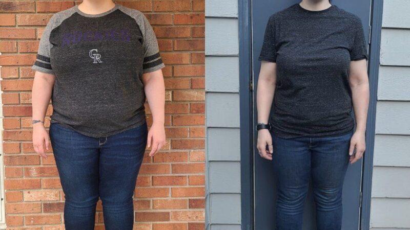 Ranada El estudiante de tiempo completo perdió 65 libras. Así es como: